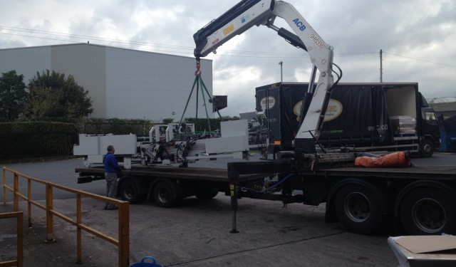 Machine relocation for Smurfit Kappa
