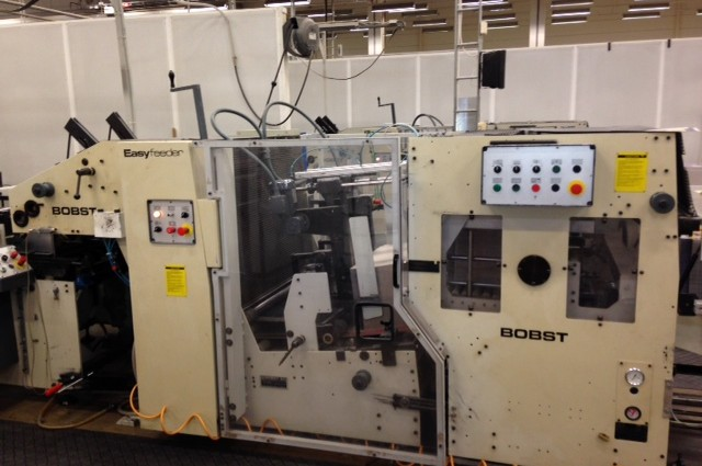 FOLDING & GLUING – Bobst 90 Pre Feeder – with turn & stacking unit