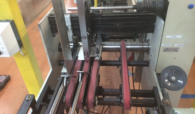 Bobst Media 45-II check and Full fault Report given to Customer.