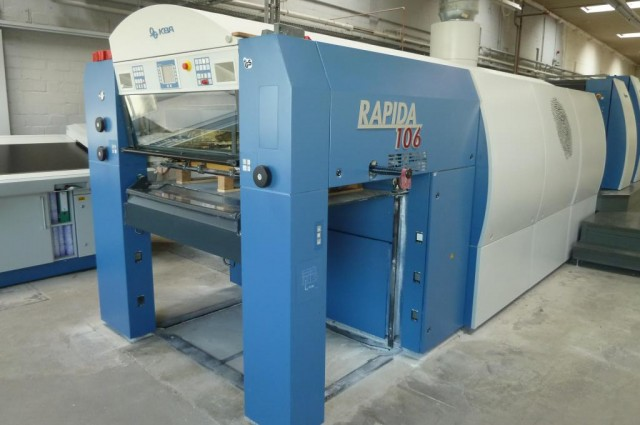 PRESS – KBA Rapida 106-6 + L ALV