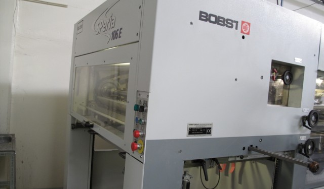 2005 Used BOBST SPERIA 106E Available now!